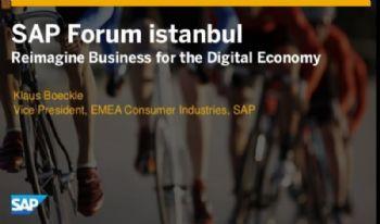 SAP 2016<br> REIMAGINE BUSINESS FOR THE DIGITAL ECONOMY